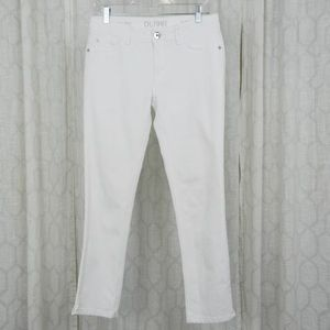 DL1961 Sz 29 Angel White Mid Rise Skinny Jeans